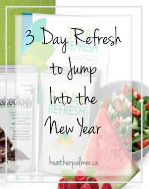 3 day refresh jump into the new year