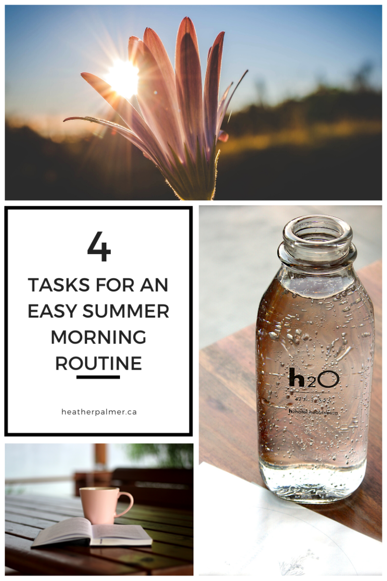 asy summer morning routine